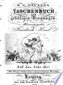 Taschenbuch zum Geselligen Vergnügen ...