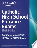 Kaplan Catholic High School Entrance Exams