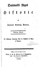 Book Danmarks riges historie: deel. Fra Waldemar Atterdags død til Christian II. flugt af rigerne