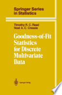 Goodness of Fit Statistics for Discrete Multivariate Data
