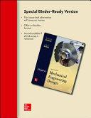 Loose Leaf for Shigley s Mechanical Engineering Design