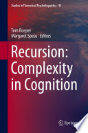 Recursion  Complexity in Cognition Book PDF