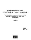 Companion guide to the ASME boiler   pressure vessel code