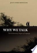 Why We Talk