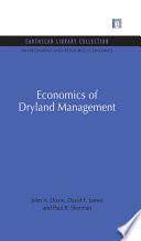 Economics of Dryland Management