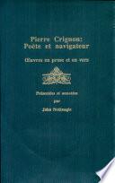 illustration Pierre Crignon, poète et navigateur