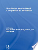 Routledge International Companion to Education