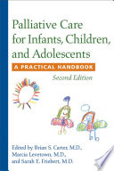 Palliative Care for Infants  Children  and Adolescents