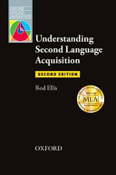 Understanding Second Language Acquisition : in exploring language as it is used in...