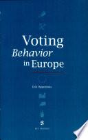 Voting Behavior in Europe