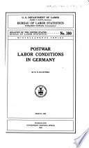 Postwar Labor Conditions in Germany