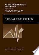 Severe Acute Respiratory Distress Syndrome, An Issue of Critical Care Clinics - E-Book