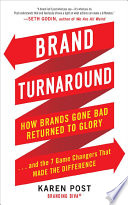 download ebook brand turnaround: how brands gone bad returned to glory and the 7 game changers that made the difference pdf epub