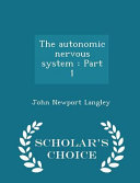 The Autonomic Nervous System