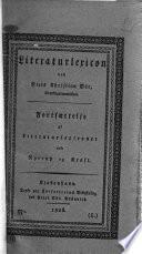 Literaturlexicon ved N. C. Øst. Fortsættelse af Literaturlexiconet ved Nyerup og Kraft. No. 1-6 (Aabye-Callisen), and Interims-blade 1-5