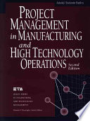 Project Management in Manufacturing and High Technology Operations
