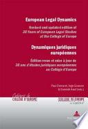 Dynamiques Juridiques Europ  ennes