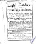 The English Gardner, etc