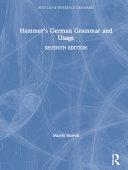 Hammer's German Grammar and Usage