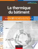 La thermique du b  timent   2e   d