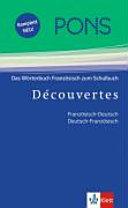 PONS - Wörterbuch für Découvertes
