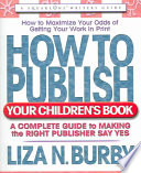 How to Publish Your Children s Book
