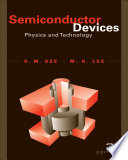 Semiconductor Devices  Physics and Technology  3rd Edition