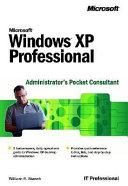 Microsoft Windows XP Professional Administrator s Pocket Consultant