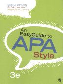 An Easyguide To Apa Style An Easyguide To Research Design Spss
