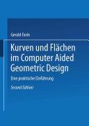 Kurven und Flächen im Computer Aided Geometric Design