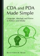 CDA and PDA Made Simple