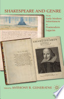 Shakespeare and Genre