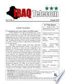Iraq Telecom Monthly Newsletter 08 10