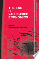 The End of Value Free Economics