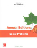 Annual Editions  Social Problems  41 e