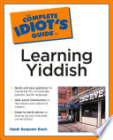 The Complete Idiot s Guide to Learning Yiddish