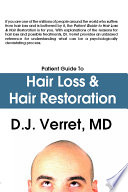 Patient Guide to Hair Loss   Hair Restoration