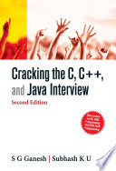 CRACKING C C   AND JAVA INTERVIEW