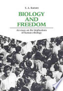 Biology and Freedom