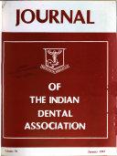 Journal of the Indian Dental Association