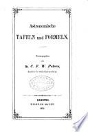 Astronomische Tafeln und Formeln