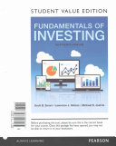 Fundamentals of Investing  Student Value Edition