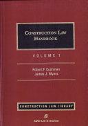 Construction Law Handbook