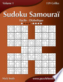 illustration Sudoku Samouraï - Facile à Diabolique - Volume 1 - 159 Grilles