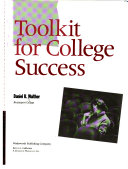 Toolkit for college success