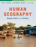 Human Geography  People  Place  and Culture  11th Edition