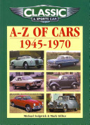 A Z of Cars  1945 1970