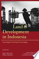 Land And Development In Indonesia