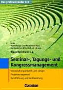 Seminar-, Tagungs- und Kongressmanagement