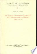 La vendita dei beni nazionali nella repubblica romana del 1798 1799